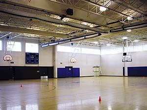 Click to enlarge photo of Hanover Middle School Gymnasium